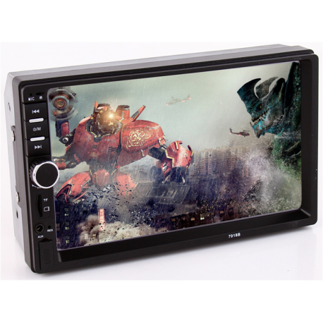 "PLAYER MP3 / MP5 AUTO COD: 7018B 7"" cu mirrorlink"